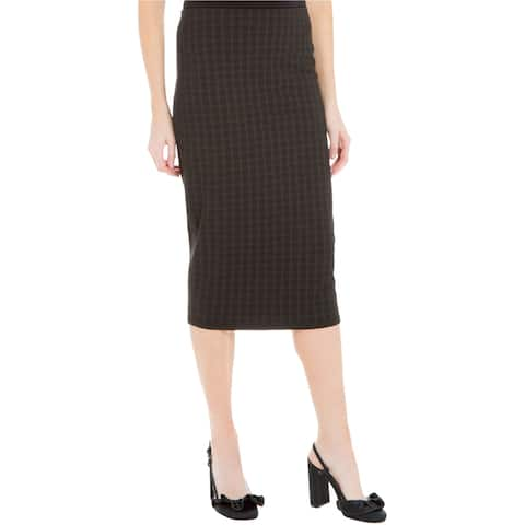 Max Studio London Womens Phoebe Midi Pencil Skirt