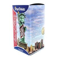 "Statue of Liberty (American Flag Version) 8"" Polyresin Bobblehead - multi"