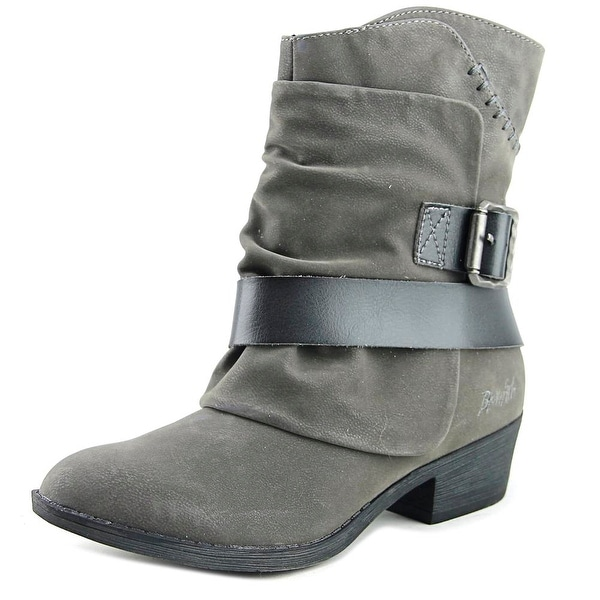 Blowfish Searly Women Round Toe Synthetic Gray Ankle Boot