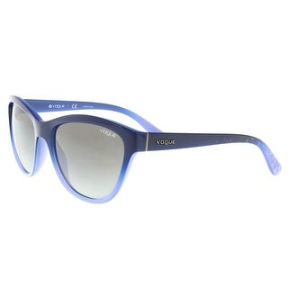 Vogue VO2993S 234611 2N Navy/Periwinkle Cat Eye Sunglasses - 57-18-140