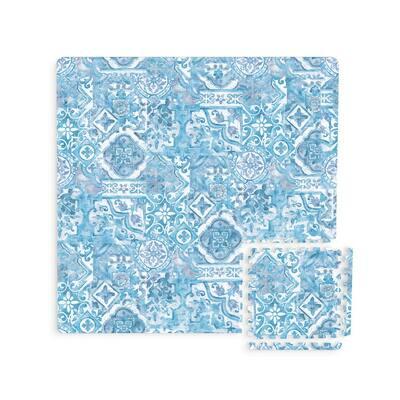 Belize Interlocking Floor Foam Tiles - 34.2in x 34.2in x 0.4in