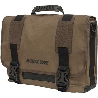 "Mobile Edge(R) MEUME9 14.1"" PC/15"" MacBook Pro(R) ECO Ultrabook(TM) Messenger Bag (Olive)"