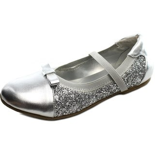 Balleto by Jumping Jacks Destiny W Round Toe Synthetic Ballet Flats