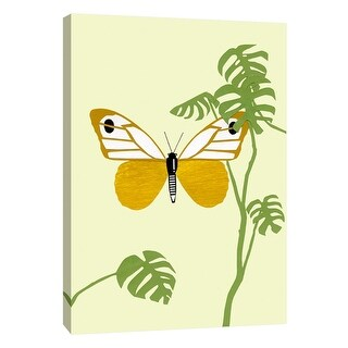 """PTM Images 9-108728  PTM Canvas Collection 10"""" x 8"""" - """"Butterfly"""" Giclee Butterflies Art Print on Canvas"""