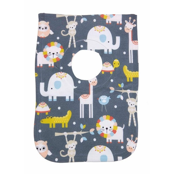 Animal Envy Cotton Printed Baby Bib