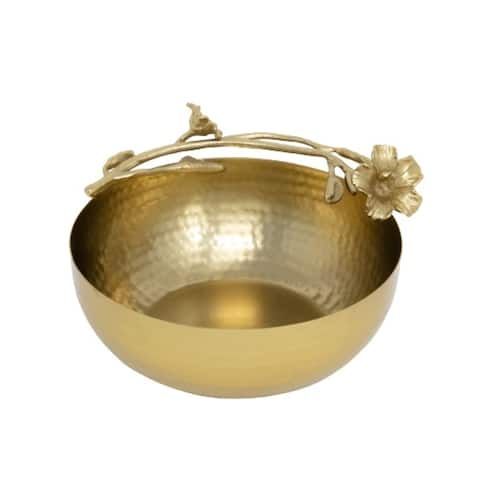 Jiallo Eldora Bowl - Satin Gold