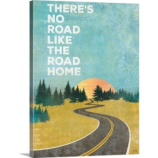 """The Road Home"" Canvas Wall Art"