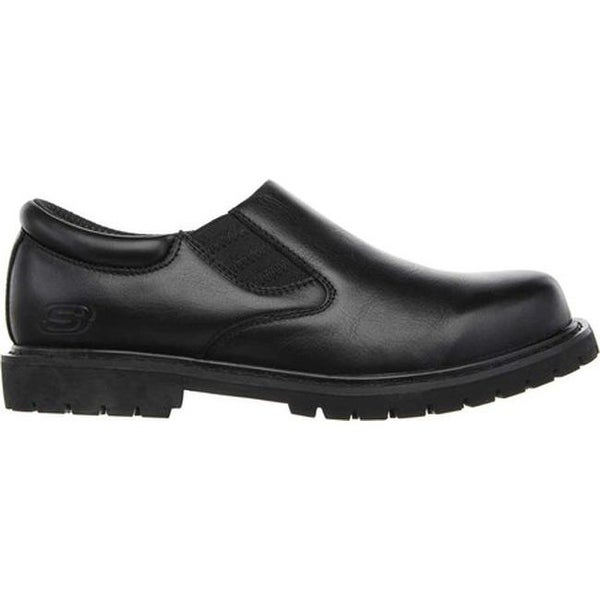 Shop Skechers Men's Relaxed Fit Cottonwood Goddard SR Black