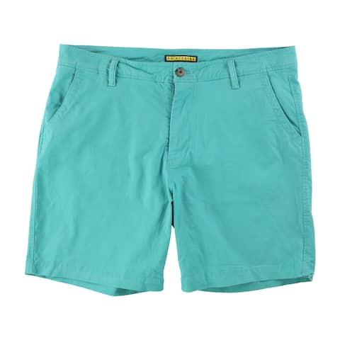 Aeropostale Mens Solid Casual Chino Shorts - 38