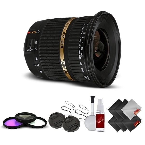 Tamron SP AF 10-24mm f / 3.5-4.5 DI II Lens For Canon International Version (No Warranty) Base Kit - Black
