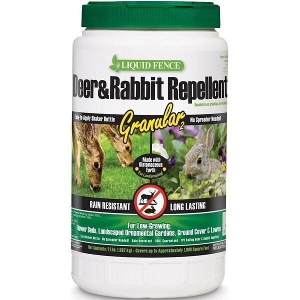 Liquid Fence HG-70266 Deer & Rabbit Repellent, 2 Oz