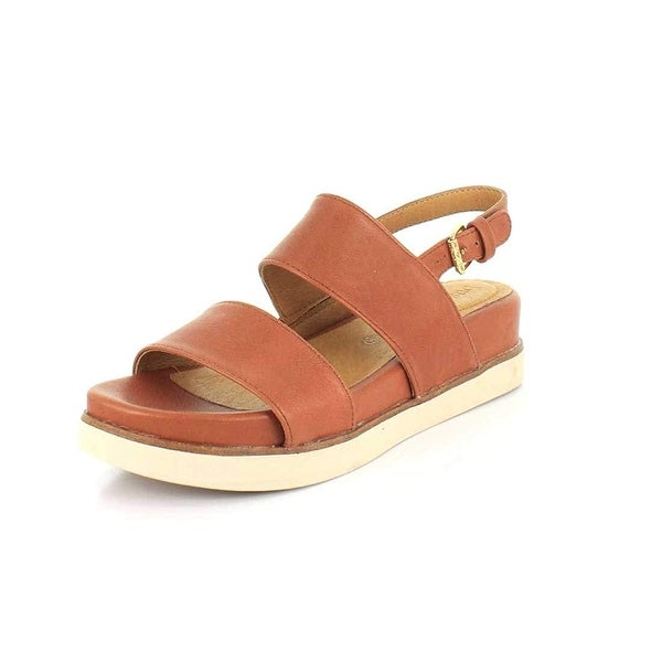 a7509a6e383 Shop BUSSOLA Womens peg Open Toe Casual Slide Sandals - Free ...