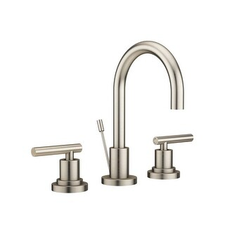 Jacuzzi MX848 Salone Widespread Bathroom Faucet - Includes Pop-Up Drain Assembly