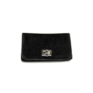 Shiraleah Philippa Women Synthetic Clutch NWT - Black