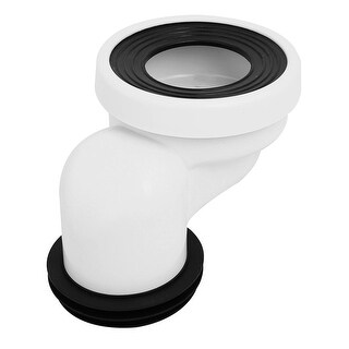 100mm PVC Rubber Leak Proof Offset Toilet Flange Shifter for Drainage Systems