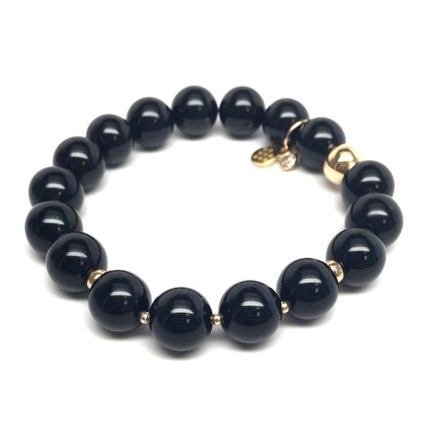 "Black Onyx Sophia 7"" Bracelet"