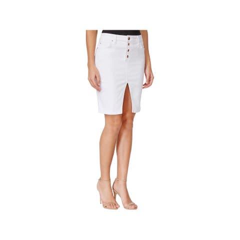Joe's Womens Pencil Skirt Denim Split Hem - Marlie - 31
