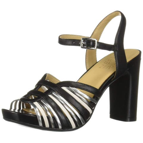 Naturalizer Womens Jules Open Toe Casual Strappy Sandals
