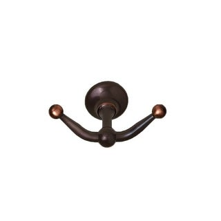 Century 81610 Ravello Double Prong Robe Hook