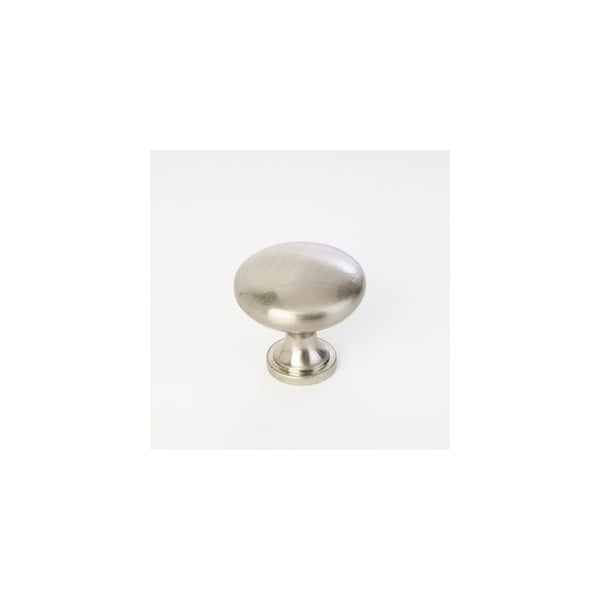 "Giagni KB-27 1-1/4"" Diameter Mushroom Cabinet Knob - satin nickel"