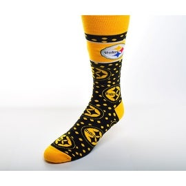 Pittsburgh Steelers Dot Band Socks