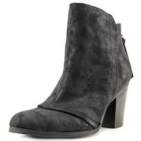 Bar III Womens JILLIAN Leather Round Toe Ankle Fashion Boots