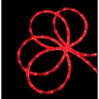 18' Red Indoor/Outdoor Christmas Rope Lights