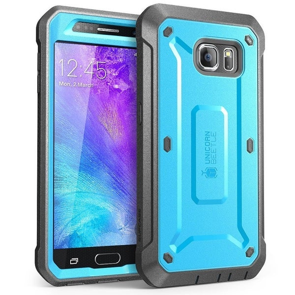 SUPCASE Samsung Galaxy S6 Case - Unicorn Beetle Pro - Blue/Black