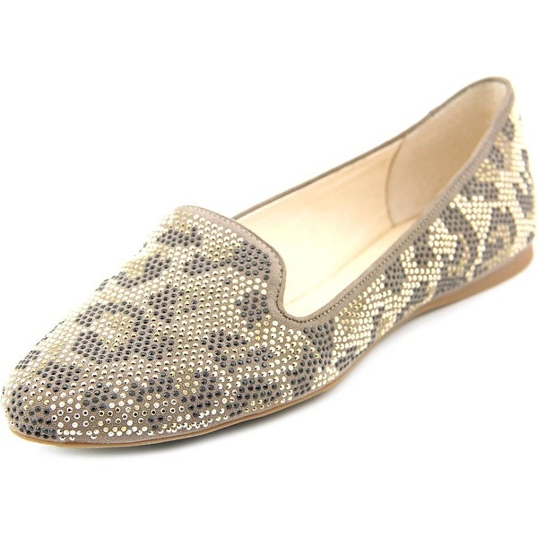 INC International Concepts Galle 10 Women Round Toe Canvas Brown Flats