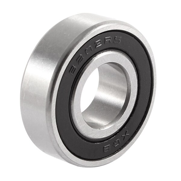 6202RS 15mmx35mmx11mm Sealed Deep Groove Radial Ball Bearings