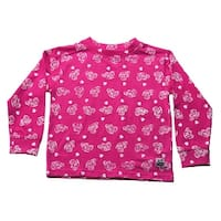 Case IH Little Girl's Toddler Printed Jersey Crew Neck Shirt