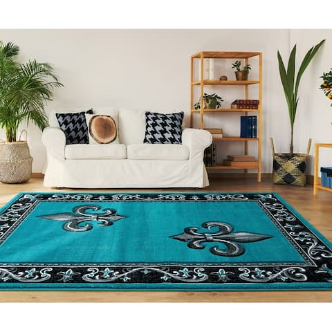 Porch & Den Curlew Hand-Carved Area Rug