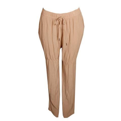 Tommy Hilfiger Oxford Khaki Draw Strings Soft Pants 10