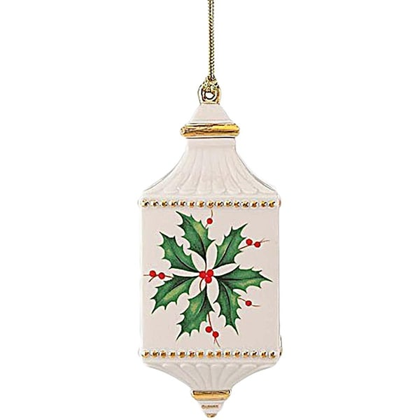 Lenox 2012 Holiday Christmas Ornament Christmas Pierced