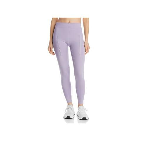 Adidas Stella McCartney Womens Athletic Leggings Fitness Training - Ice Lavender