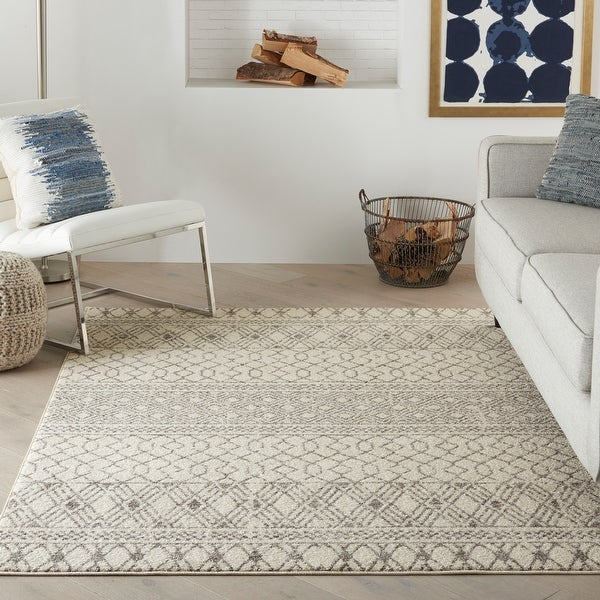 Nourison Passion Geometric Area Rug. Opens flyout.
