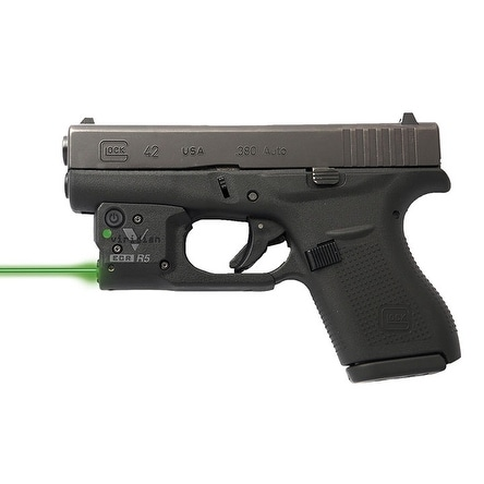 Viridian Reactor 5 Green Laser Sight For Glock 43 Featuring Ecr Includes Hybrid Belt Holster