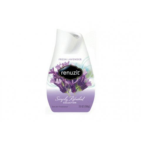 Renuzit 35001 Simply Refreshed Collection Air Freshener Cone, Fresh Lavender, 7 Oz