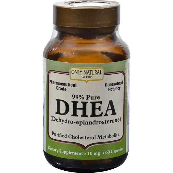 Only Natural DHEA - 99% - 10 mg - 60 Caps