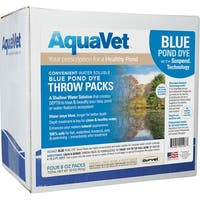Aquavet Blue Pond Dye With Suspend Technology