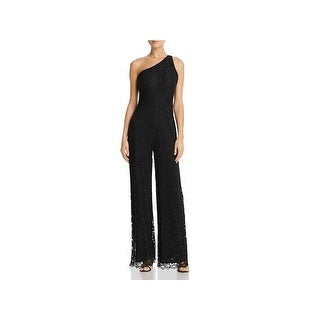 Laundry by Shelli Segal Womens Jumpsuit Lace Wide Leg