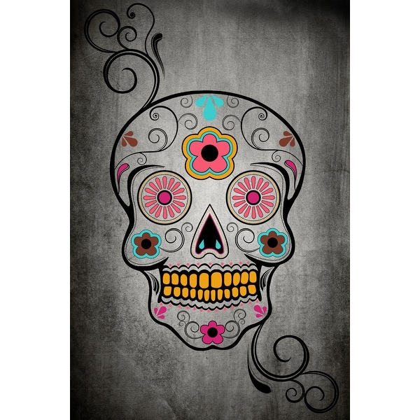 Sugar Skull - LP Artwork (Cotton/Polyester Chef's Apron)