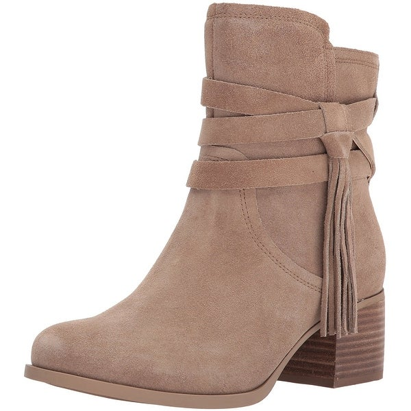 3889d87a907 Shop Koolaburra Womens Kenz Suede Round Toe Ankle Fashion Boots ...