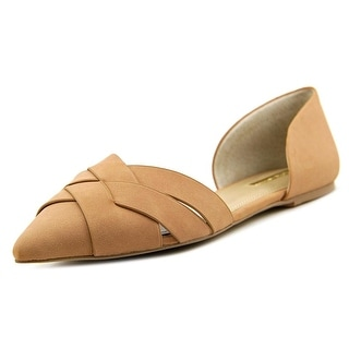 BCBGeneration Pepperr Pointed Toe Leather Flats