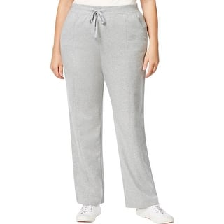 Karen Scott Sports Womens Plus Lounge Pants French Terry Heathered - 2x|https://ak1.ostkcdn.com/images/products/is/images/direct/a9fe81dc4a6f041ff8acae70bc97a4e54b7b9276/Karen-Scott-Sports-Womens-Plus-Lounge-Pants-French-Terry-Heathered.jpg?impolicy=medium