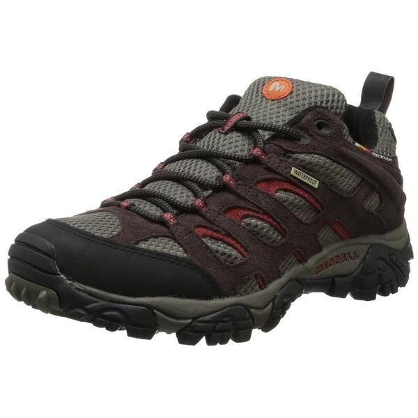 Merrell Men's Moab Waterproof Hiking Shoe,Espresso,7.5 M US