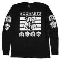 Harry Potter Hogwarts School of Witchcraft And Wizardry Men's Long Sleeve T-shirt