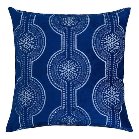Lydia Christmas Holiday Oversized Pillow with Insert