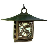 Whitehall Pinecone Suet Bird Feeder (Copper Verdi) - Copper