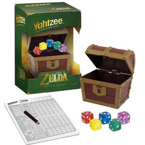 YAHTZEE The Legend of Zelda Collector's Edition